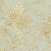 """Brewster Home Fashions Artistic Illusion Wren Jacobean 33' x 20.5"""" Floral 3D Embossed Wallpaper"""