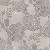 "Brewster Home Fashions Venezia Sancia Rosette Weave 33' x 27"" Floral 3D Embossed Wallpaper"