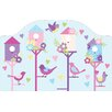 Brewster Home Fashions WallPops Chirping The Day Away Wall Mural