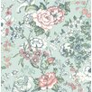 """Brewster Home Fashions Kismet Ainsley Boho 33' x 20.5"""" Floral and Botanical 3D Embossed Wallpaper"""