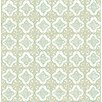 "Brewster Home Fashions Kismet Geo Quatrefoil 33' x 20.5"" Wallpaper"