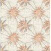"Brewster Home Fashions Kismet Iris Shibori 33' x 20.5"" Wallpaper"
