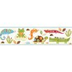 "Brewster Home Fashions Hide and Seek Connor Reptile Smiles 15' x 6"" Border Wallpaper"