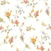 """Brewster Home Fashions For Your Bath II 33' x 20.5"""" Floral Wallpaper"""