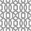 """Brewster Home Fashions Symetrie Quantum 33' x 20.5"""" Trellis Wallpaper"""