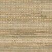 "Brewster Home Fashions Zen Zoho Foil Grass 24' x 36"" Gingham Wallpaper"