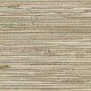 "Brewster Home Fashions Zen Kyodo Grasscloth 24' x 36"" Stripe Wallpaper"
