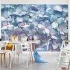 Brewster Home Fashions Komar Light Blue Wall Mural