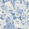 """Brewster Home Fashions 33' x 20.5"""" Dodge Floral Wallpaper"""