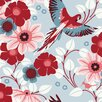 "Brewster Home Fashions Wall Vision 33' x 20.9"" Lael Song Bird Wallpaper"