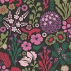 "Brewster Home Fashions Wall Vision 33' x 20.9"" Kade Floral Meadow Wallpaper"