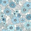 "Brewster Home Fashions Wall Vision 33' x 20.9"" Capriana Floral Burst Wallpaper"