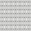"Brewster Home Fashions Wall Vision 36.7' x 20.9"" Jai Tribal Geometric Wallpaper"