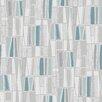 "Brewster Home Fashions Wall Vision 33' x 20.9"" Taavi Retro Geometric Wallpaper"