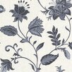 """Brewster Home Fashions La Belle Maison 33' x 20.5"""" Floral and Botanical 3D Embossed Wallpaper"""