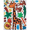 Brewster Home Fashions Euro Giraffe Wall Decal