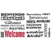 Brewster Home Fashions Euro Welcome Wall Decal