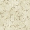 """Brewster Home Fashions Pompei Avellino 33' x 20.5"""" Scroll 3D Embossed Wallpaper"""