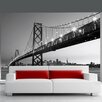 Brewster Home Fashions Ideal Décor San Francisco Skyline Wall Mural