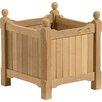 Harpersfield Shorea Wood Planter Box - Size: 15 inch High x 15 inch Wide x 15 inch Deep - Beachcrest Home Planters