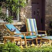 Oxford Garden Siena 4 Piece Lounge Seating Group with cushions