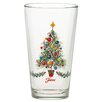 Fiesta Christmas Tree 16 Oz. Tapered Glass (Set of 4)