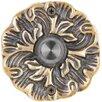 Waterwood Hardware Solid Brass Maya Doorbell
