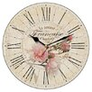 Smith & Taylor Smith Taylor 28.3cm French Rose Vintage Wall Clock