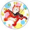Smith & Taylor Smith Taylor 28.2cm Cat and Fiddle Children's Wall Clock