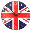 Smith & Taylor 28.2 cm Union Jack Round Wall Clock