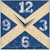 Smith & Taylor Saltire Wall Clock