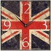 Smith & Taylor Union Jack Shabby Wall Clock