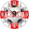 Smith & Taylor Smith Taylor 28.2cm England Supporter Wall Clock