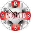 Smith & Taylor Smith Taylor 28.2cm England Supporter Wall Clock