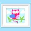 Olive Kids Birdie Personalized Framed Art