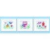 Olive Kids 3 Piece Birdie Personalized Framed Art Set