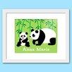 Olive Kids Endangered Animals Personalized Framed Art