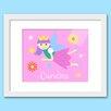 Olive Kids Fairy Princess Personalized Framed Art