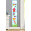 Olive Kids Birdie Personalized Peel and Stick Growth Chart