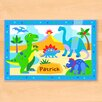Olive Kids Dinosaur Land Personalized Placemat