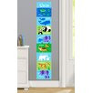 Olive Kids Endangered Animals Personalized Peel and Stick Growth Chart