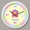 """Olive Kids Country Baby Personalized 12"""" Wall Clock"""