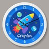 "Olive Kids Out of This World Personalized 12"" Wall Clock"