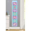 Olive Kids Flower Land Personalized Peel and Stick Growth Chart