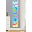 Olive Kids Ocean Personalized Peel and Stick Growth Chart