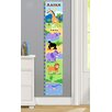 Olive Kids Wild Animals Personalized Peel and Stick Growth Chart
