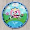 "Olive Kids 12"" Princess Personalized Wall Clock"