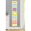 Olive Kids Country Baby Personalized Peel and Stick Growth Chart