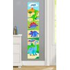 Olive Kids Dinosaur Land Personalized Peel and Stick Growth Chart