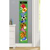 Olive Kids Game On Personalized Peel and Stick Growth Chart